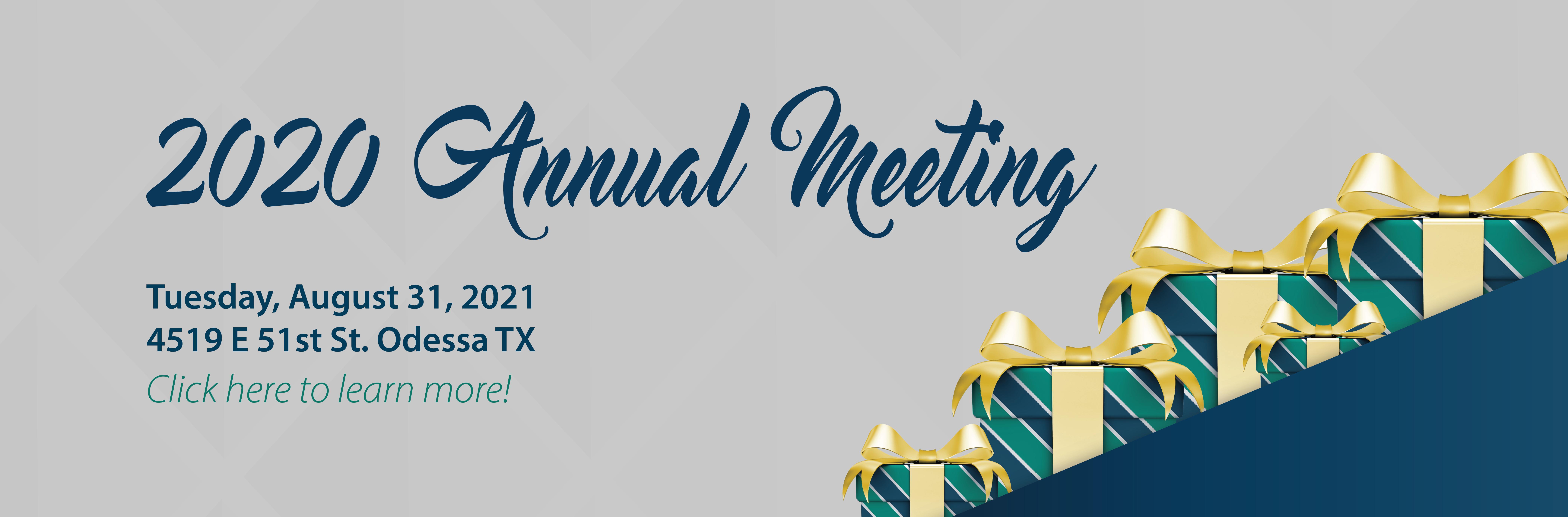 Annual Meeting Notice